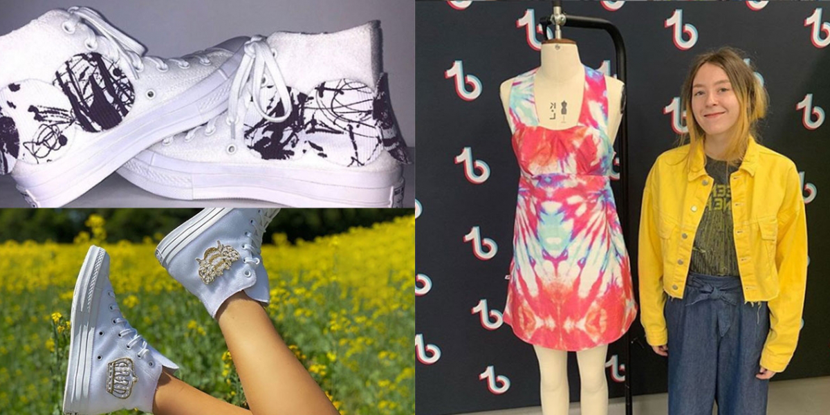 Art students' success with TikTok, Size? and Converse